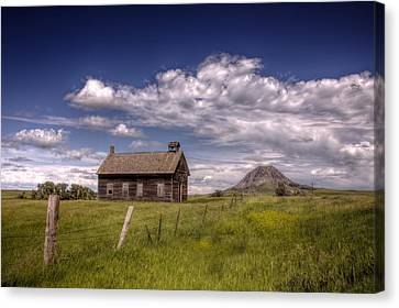 Butte View Canvas Print