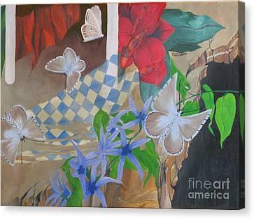 Butterflies In The Breeze Canvas Print by Richard Dotson