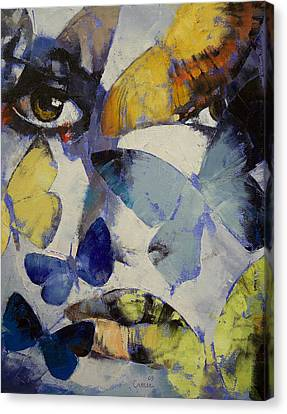 Butterflies Canvas Print by Michael Creese
