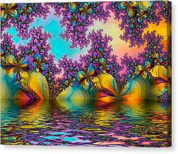 Butterfllies 3 Canvas Print by Alexandru Bucovineanu