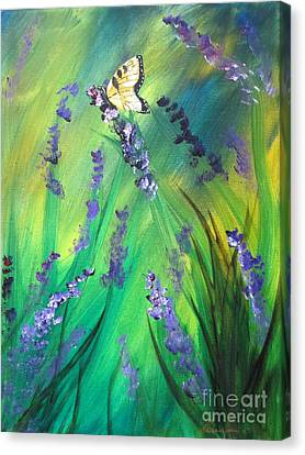 Butterfly 3 Canvas Print by Laurianna Taylor
