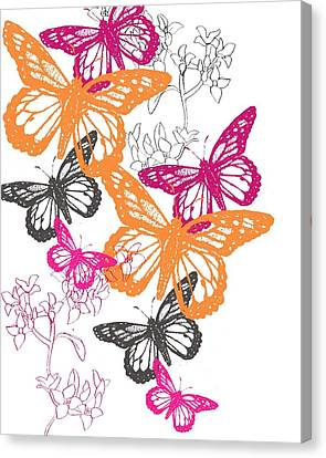 Butterfly Canvas Print by Anna Platts