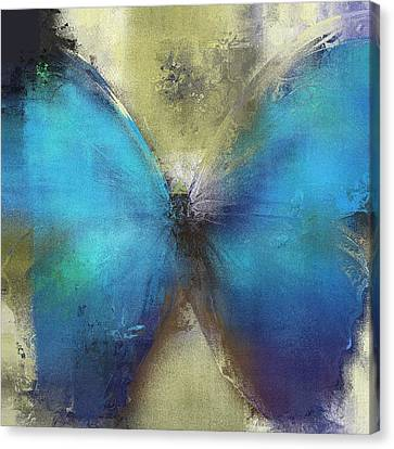 Butterfly Art - Ab0101a Canvas Print by Variance Collections