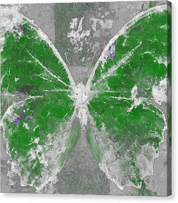 Butterfly Art - D04vb Canvas Print by Variance Collections