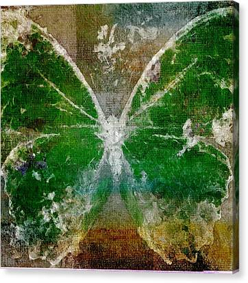 Butterfly Art - D05t02 Canvas Print by Variance Collections