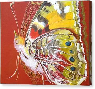 Butterfly Basic Canvas Print by Art Ina Pavelescu