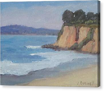 Butterfly Beach Afternoon Series 4 Canvas Print