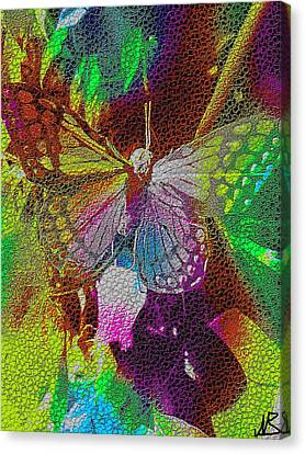 Butterfly By Nico Bielow Canvas Print