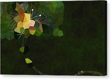 Butterfly In Motion Canvas Print - Butterfly Colors by Christine Mulgrew
