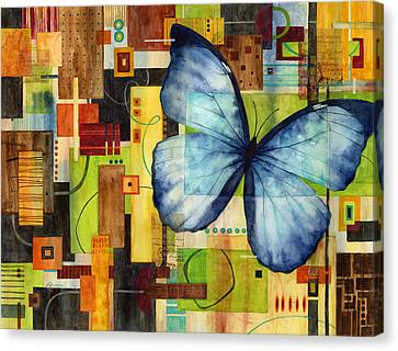 Butterfly Effect Canvas Print by Hailey E Herrera