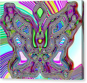 Butterfly Groove Canvas Print