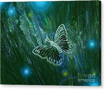 Butterfly Magic By Jrr Canvas Print by First Star Art