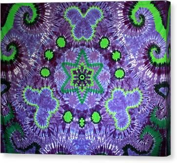 Butterfly Mandala Canvas Print by Carl McClellan