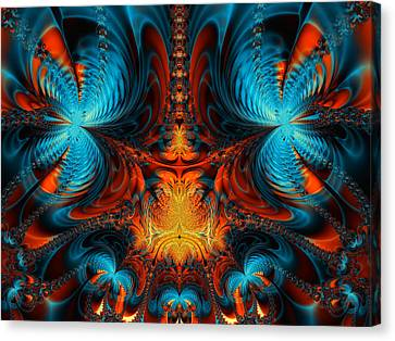 Butterfly Plasma  Canvas Print by Ian Mitchell