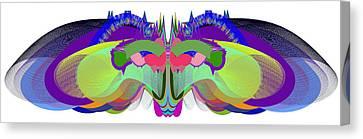 Butterfly - Ticker Symbol Csco Canvas Print