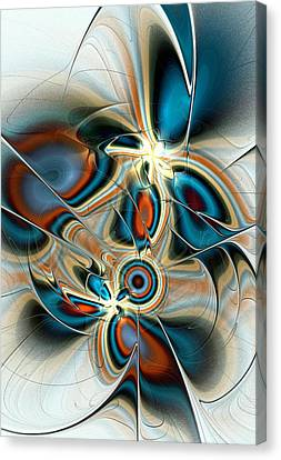 Butterfly Vision Canvas Print