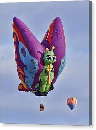 Butterfly Canvas Print by Wes and Dotty Weber