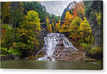 Buttermilk Falls Canvas Print by Mark Papke