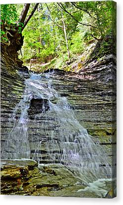 Butternut Falls Canvas Print by Frozen in Time Fine Art Photography