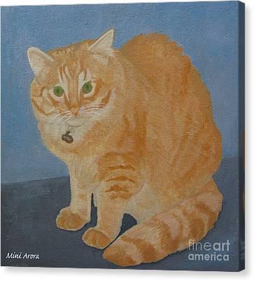 Butterscotch The Cat Canvas Print