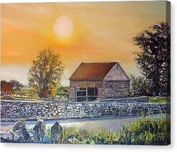 Buttonwood Farm Griswold Connecticut Canvas Print