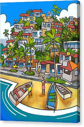 Buzios Canvas Print by Douglas Simonson