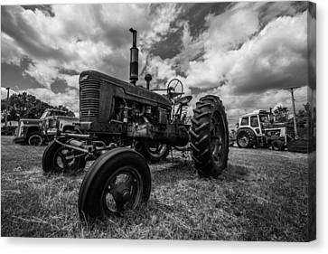 Bwcday4 Tractors Canvas Print by Aaron J Groen
