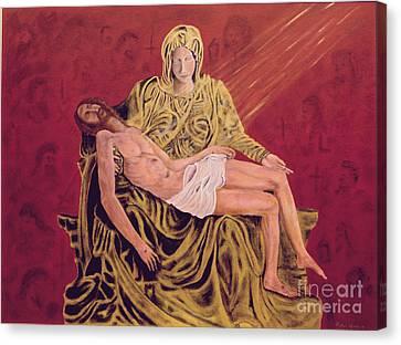 By God's Grace Canvas Print by Robin Grace