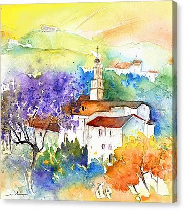 By Teruel Spain 02 Canvas Print by Miki De Goodaboom