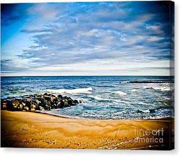 By The Beautiful Sea Canvas Print by Colleen Kammerer