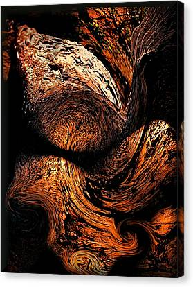 By The Fireside Canvas Print