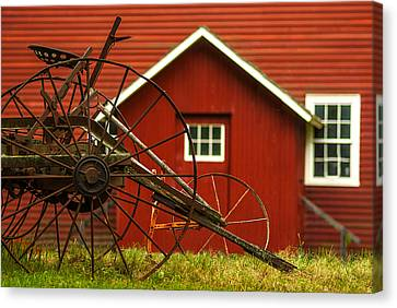 By The Mill House Version 2 Canvas Print by Jack Zulli