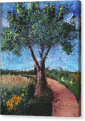 By The Path Canvas Print by William Killen