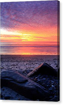 By The Shore Canvas Print by Eric Foltz