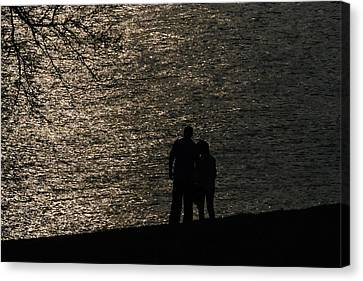 By Your Side Canvas Print by Joe Scott