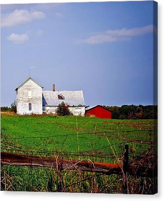 Bygone Farmstead Canvas Print