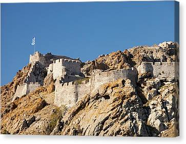 Byzantine Castle Canvas Print by Ashley Cooper