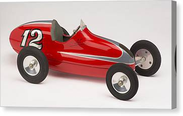C And R Proto Long Tail Gas-powered Racing Tether Car, 1947-1950 Canvas Print by C and R Products Company
