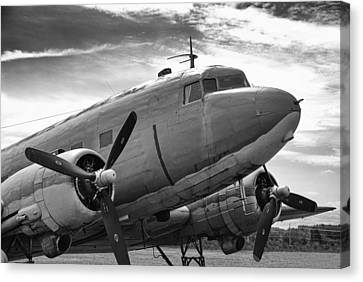 C-47 Skytrain Canvas Print by Guy Whiteley