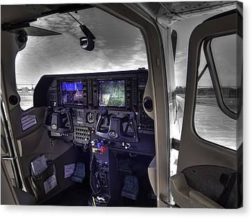 C A P Cessna 182 Skylane G1000 Fsx V1 Canvas Print