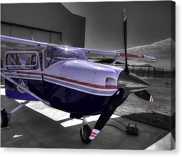 C A P Cessna 182 Skylane G1000 Fsx V2 Canvas Print
