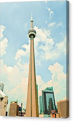 C N Tower Canvas Print by BandC  Photography