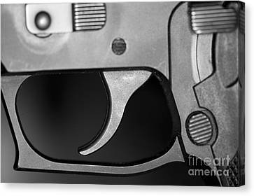 C Ribet Sig Trigger And Release Canvas Print by C Ribet