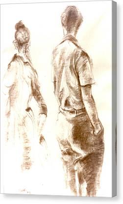 C13. Friends Canvas Print