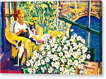 C16. Best Friends Canvas Print
