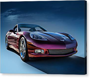 Horsepower Canvas Print - C6 Corvette by Douglas Pittman