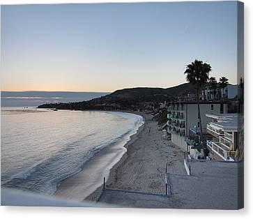 Ca Beach - 121217 Canvas Print by DC Photographer