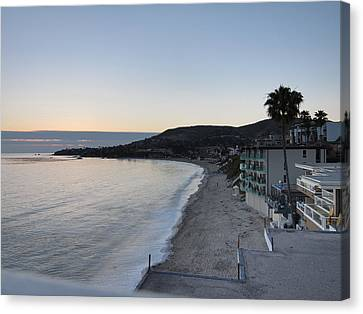 Ca Beach - 121221 Canvas Print by DC Photographer