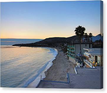 Ca Beach - 121229 Canvas Print by DC Photographer