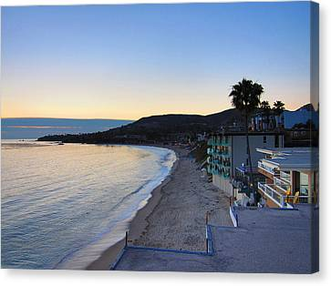 Ca Beach - 121230 Canvas Print by DC Photographer